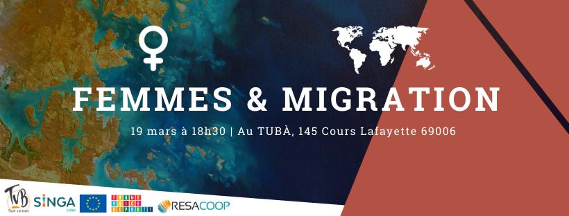 Femmes & migration visuel evenement